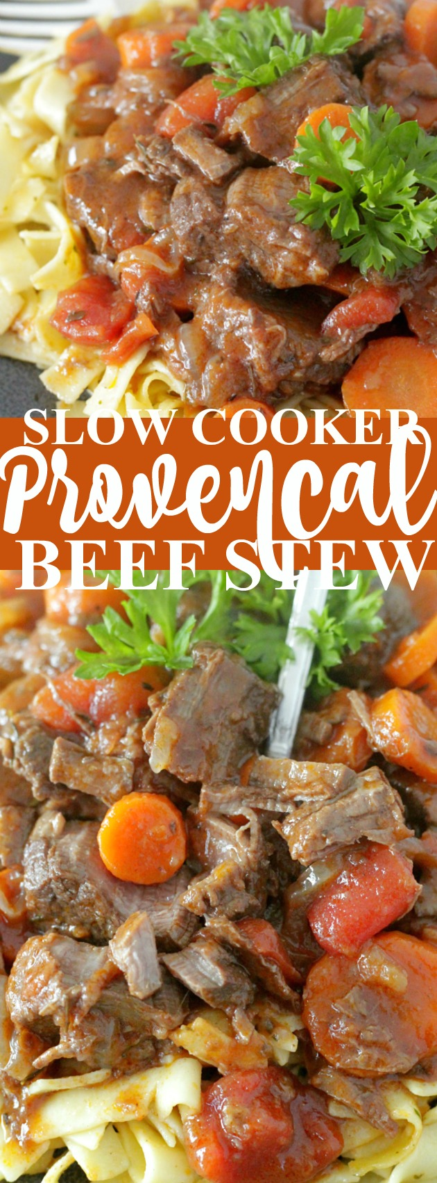 Slow Cooker Provencal Beef Stew