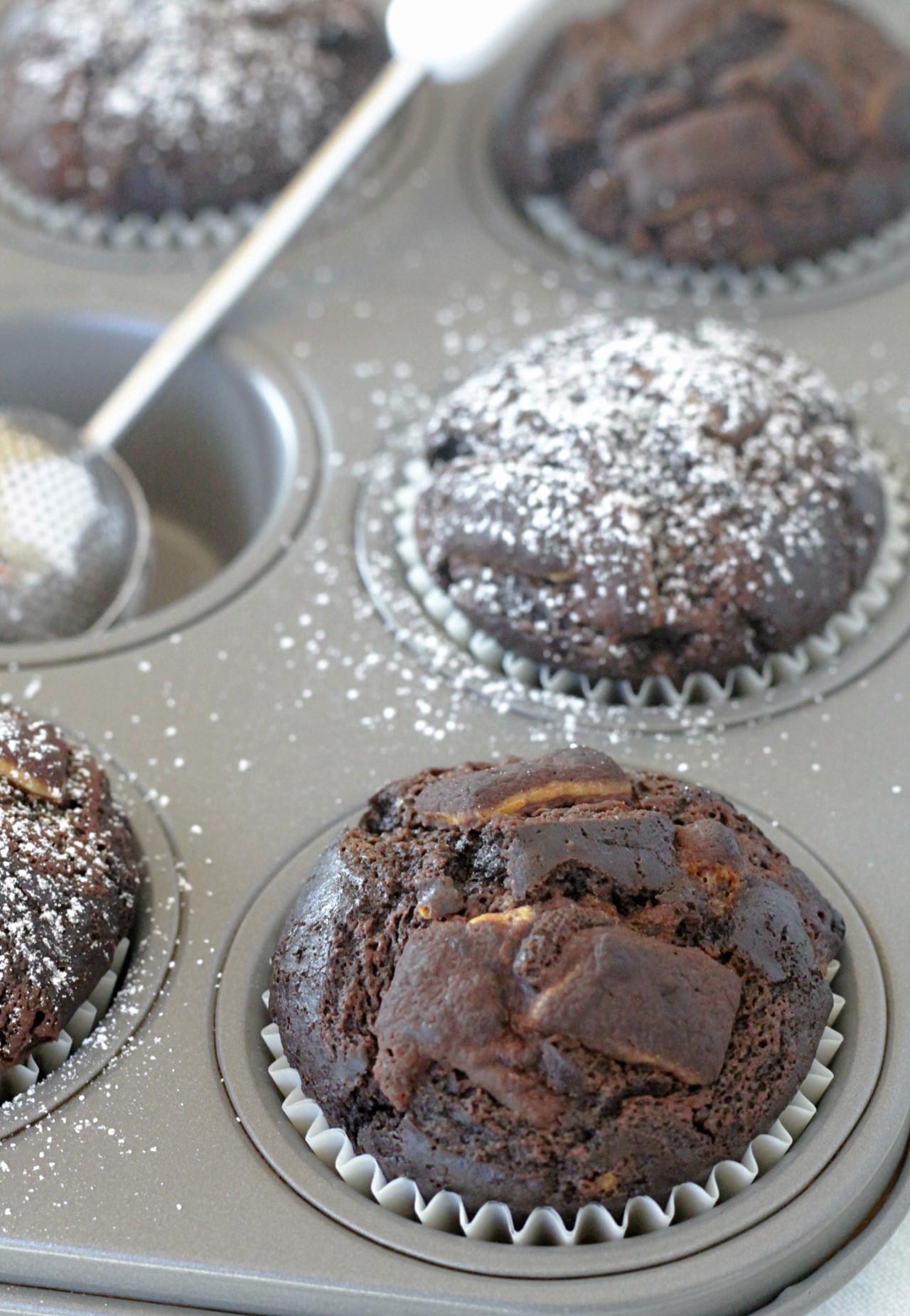 Mint Chocolate Muffins