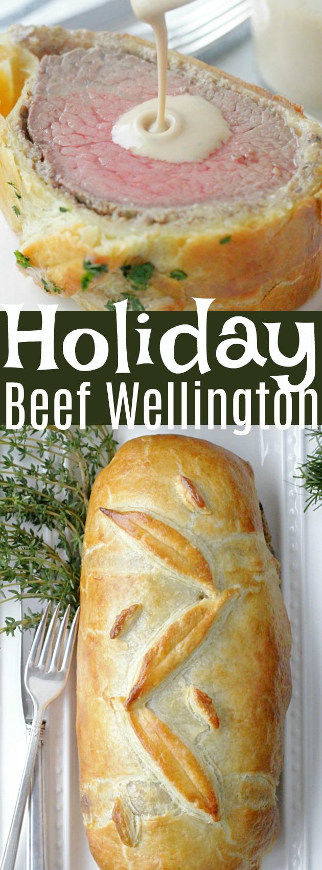 Holiday Beef Wellington #ohbeef #ad