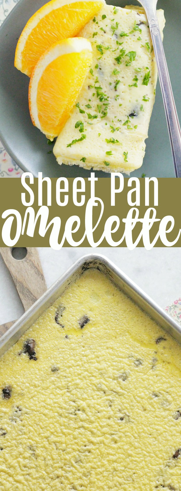 Sheet Pan Omelettes | Foodtastic Mom