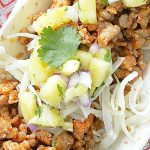 Ground Pork Tacos – Al Pastor Style