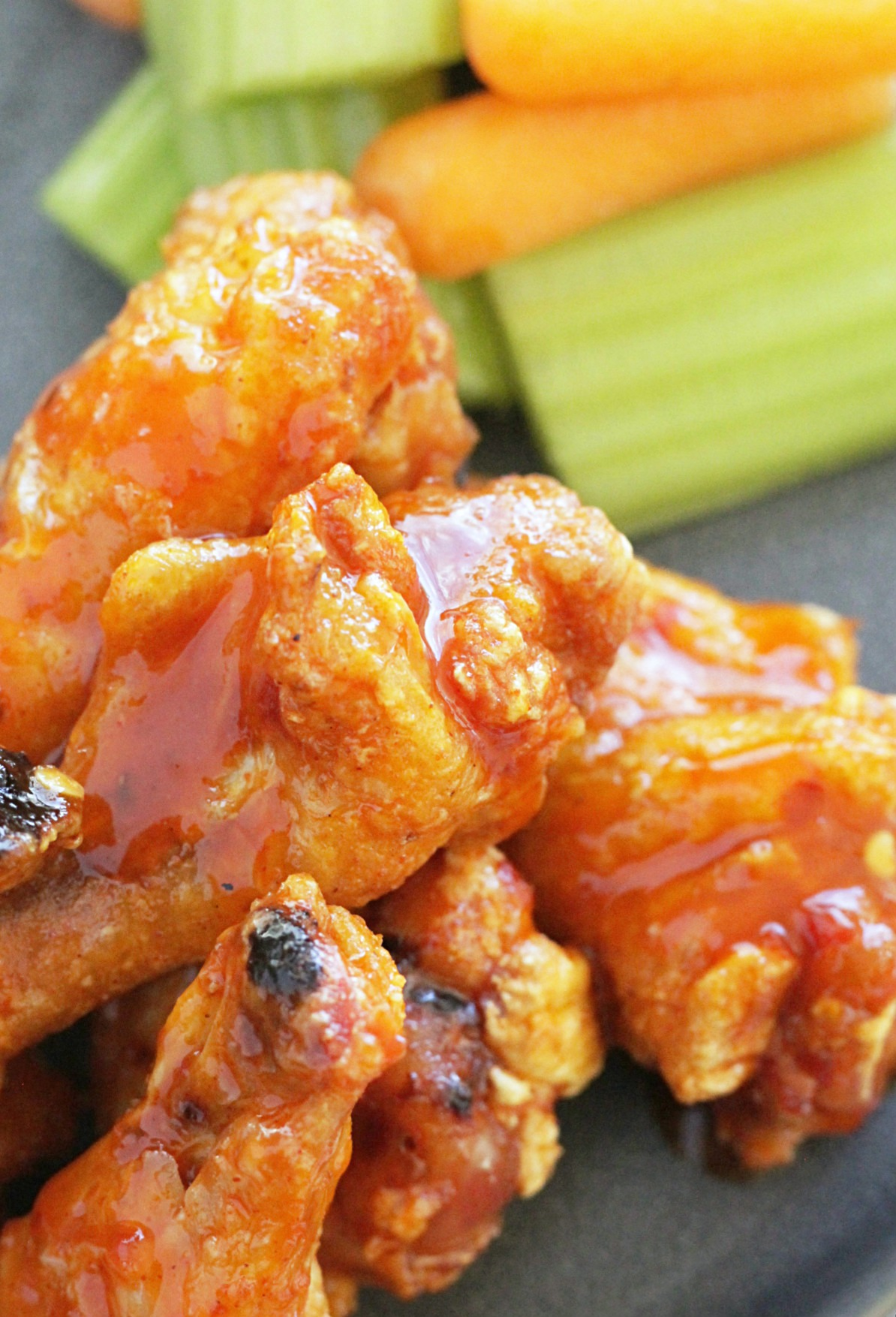 march madness party recipes crispy baked buffalo wings