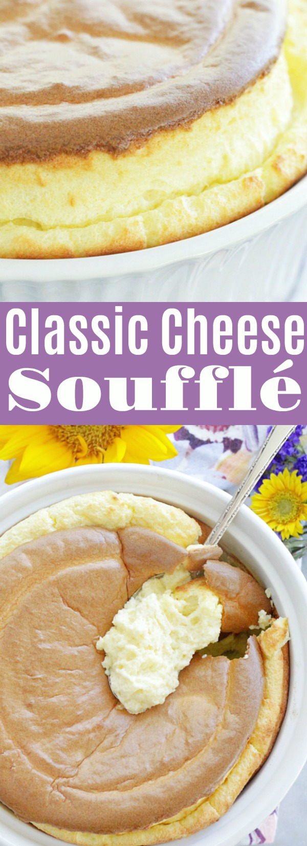 Classic Cheese Soufflé | Foodtastic Mom