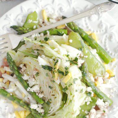 Spring Wedge Salad
