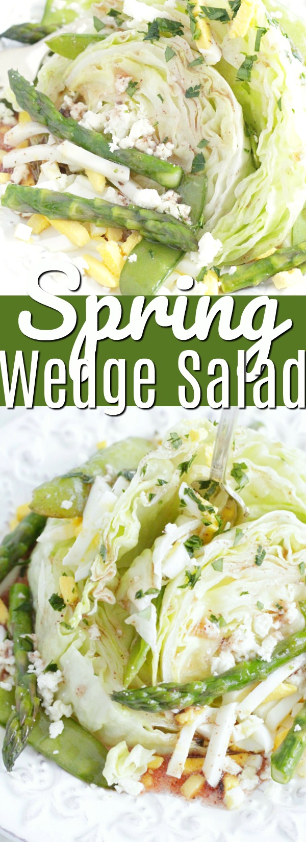 Spring Wedge Salad | Foodtastic Mom