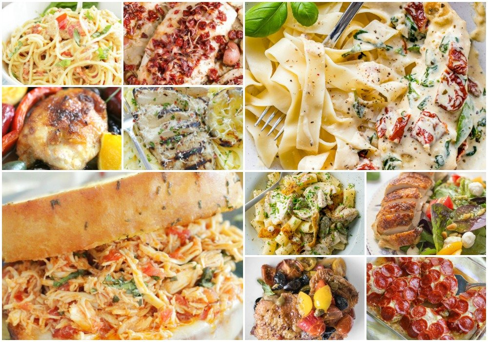 75 Easy Chicken Recipes | Foodtastic Mom - ITALIAN