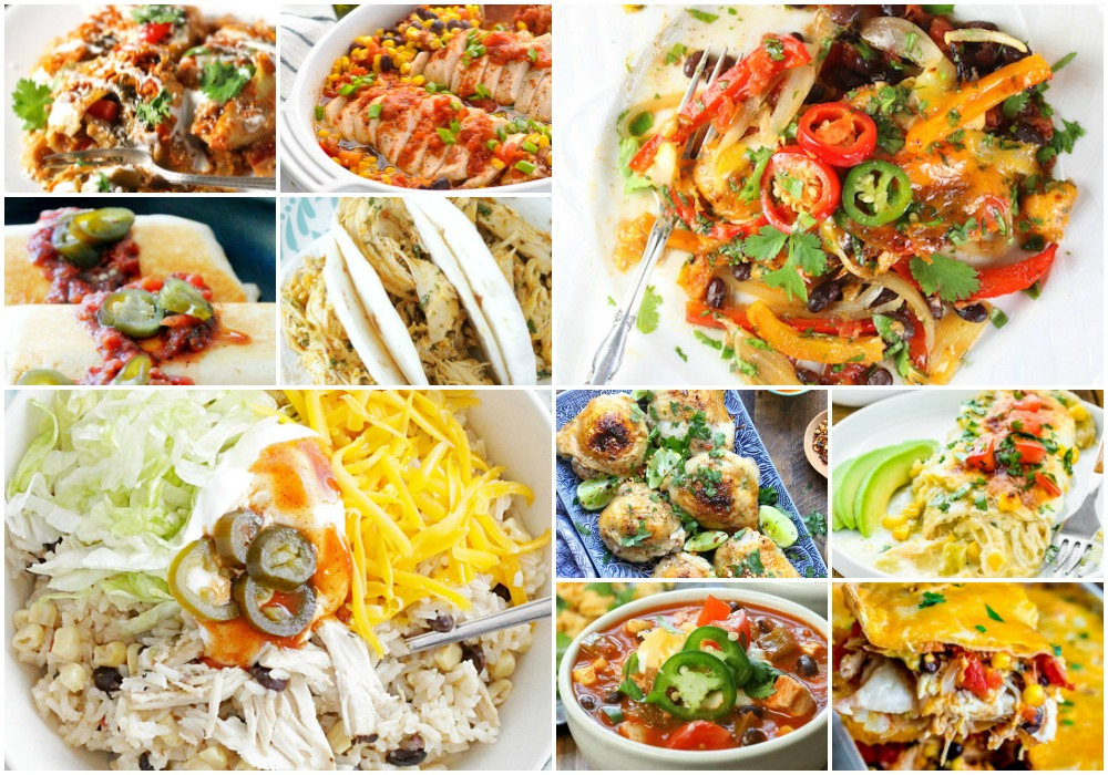 75 Easy Chicken Recipes | Foodtastic Mom - MEXICAN