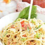 Tuscan Chicken Pasta Sauce