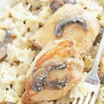 creamy chicken marsala with mascarpone cheese