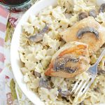 Creamy Chicken Marsala – with Mascarpone Cheese