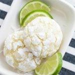 coconut key lime cookies
