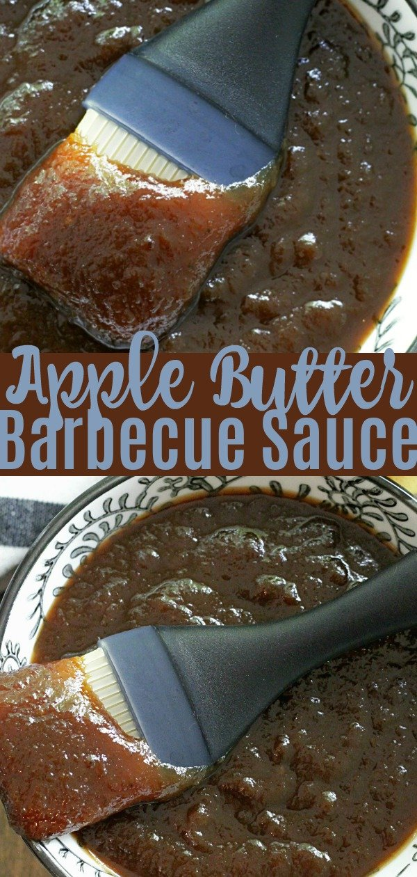 Apple Butter Barbecue Sauce | Foodtastic Mom #barbecue #barbecuesaucerecipe