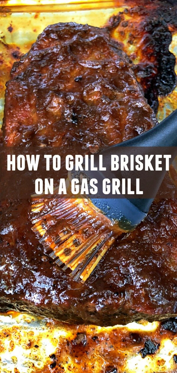 How to Grill Brisket on a Gas Grill | Foodtastic Mom #brisket #brisketrecipes #howtogrillbrisket
