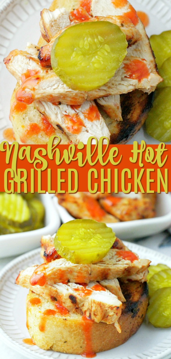 Nashville Hot Grilled Chicken | Foodtastic Mom #ad #DissolveHeartburnKroger #NashvilleHotChicken #grilling #grillingrecipes #chicken #chickenrecipes