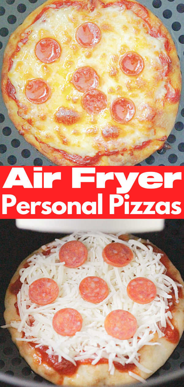 Air Fryer Pizza | Foodtastic Mom #airfryerrecipes #airfryerpizza #pizzarecipes via @foodtasticmom