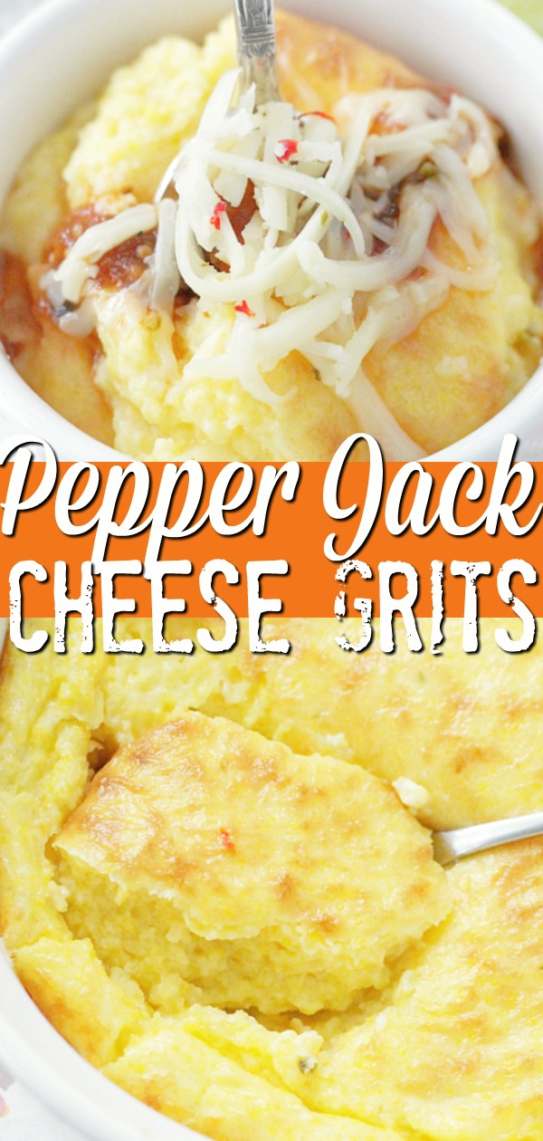 Pepper Jack Cheese Grits | Foodtastic Mom #sidedishes #sidedishesforbbq #grits #gritsrecipe #cheesegrits