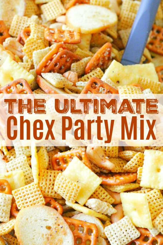 Ultimate Chex Party Mix | Foodtastic Mom #chexmix #chexpartymix #snackmix #snacks #partyrecipes