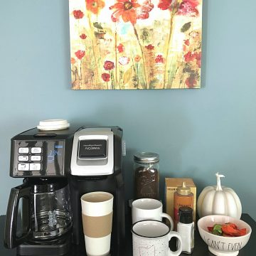 coffee station ideas full station picture