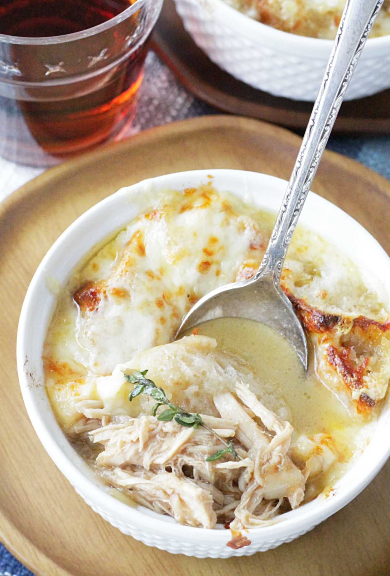 French Onion Chicken Soup Foodtastic Mom