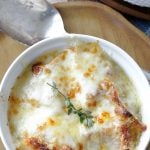 French Onion Chicken Soup