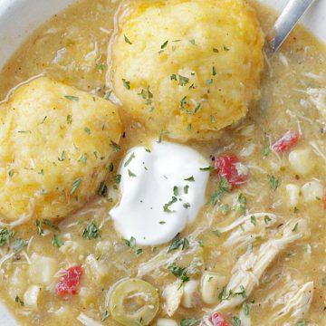Southwest Chicken and Dumplings | Foodtastic Mom #chickenanddumplings