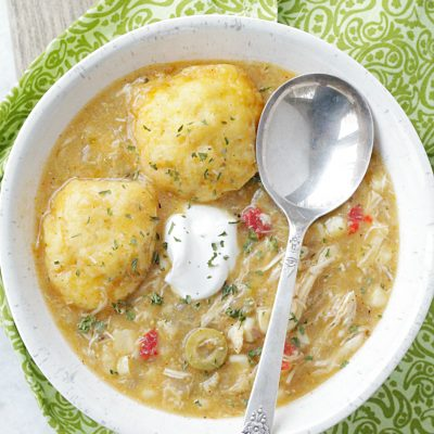 Southwest Chicken and Dumplings Recipe