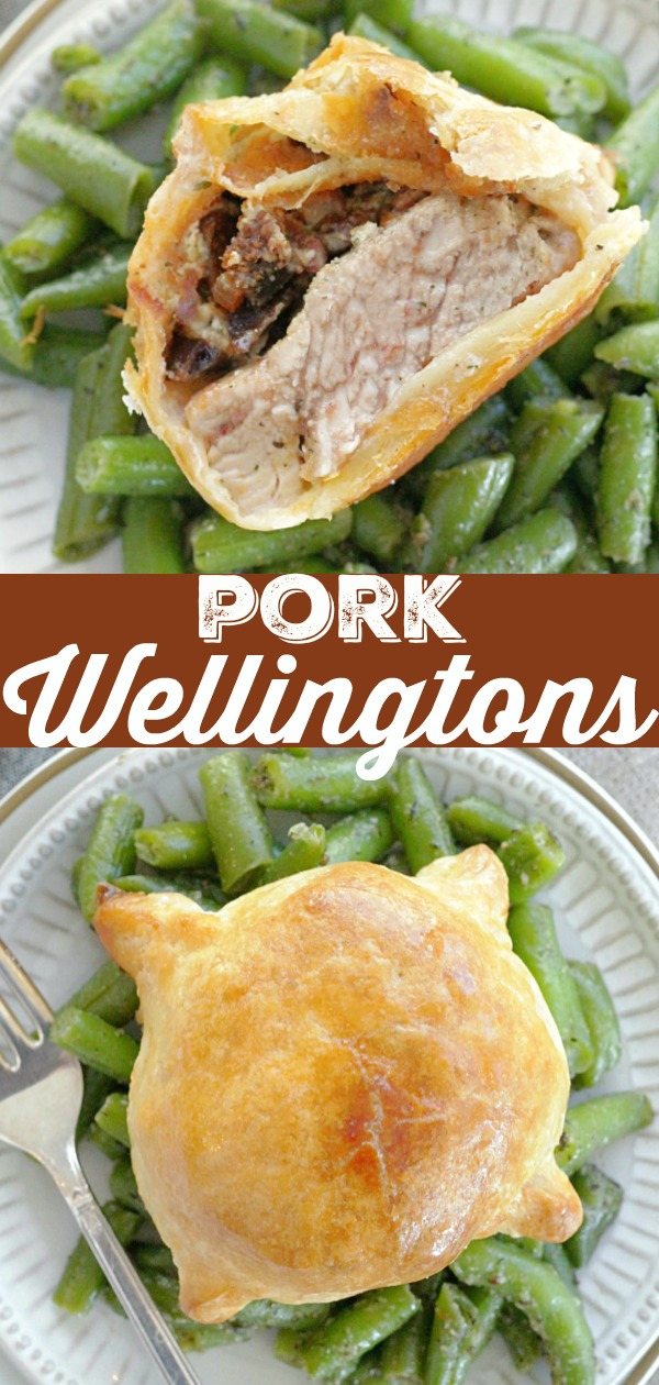 Individual Pork Wellingtons Recipe | Foodtastic Mom #ad #ohiopork #porkwellington