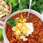 Crockpot Chili – with Turkey
