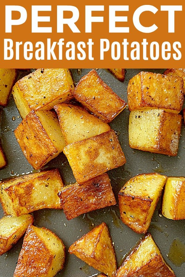 Breakfast Potatoes | Foodtastic Mom #breakfastpotatoes #breakfastpotatoeseasy