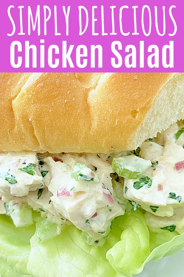 Chicken Salad Recipe | Foodtastic Mom #chickensaladrecipe #chickensalad