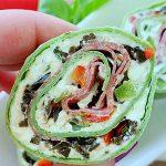 Italian Pinwheel Sandwiches