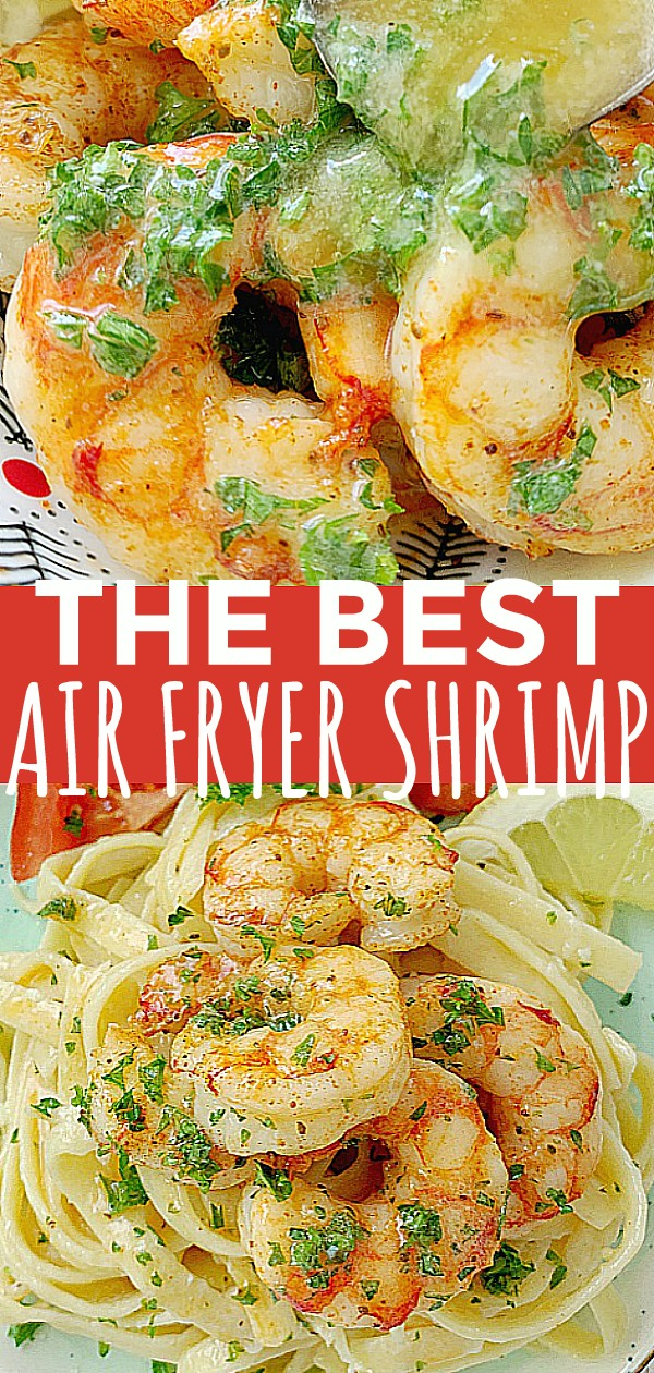 Air Fryer Shrimp | Foodtastic Mom #airfryerrecipes #airfryershrimp