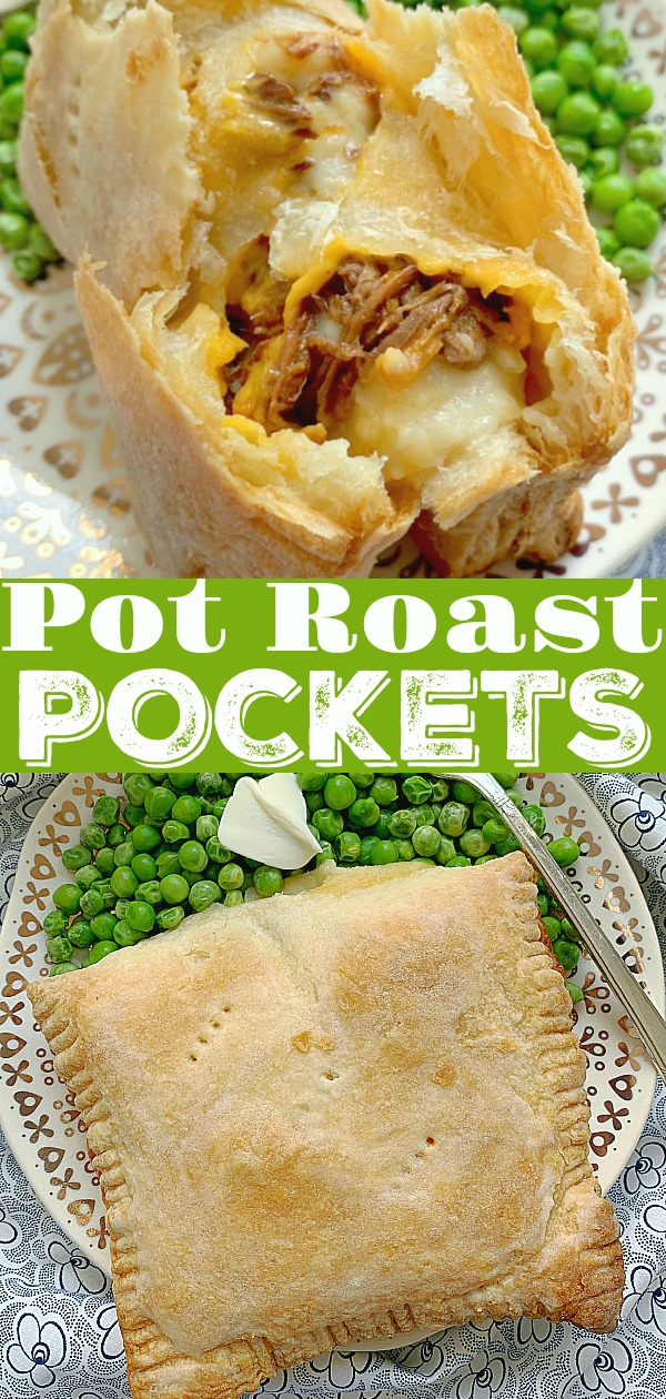 Pot Roast Pockets | Foodtastic Mom #potroast #potroastrecipe #potroastpockets #ad #ohbeef
