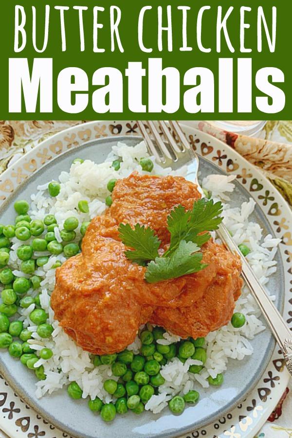 Indian Butter Chicken Meatballs | Foodtastic Mom #butterchicken #meatballs #indianbutterchicken #meatballrecipes #dinnerrecipes #dinnerideas via @foodtasticmom