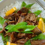 Crispy Crockpot Orange Beef