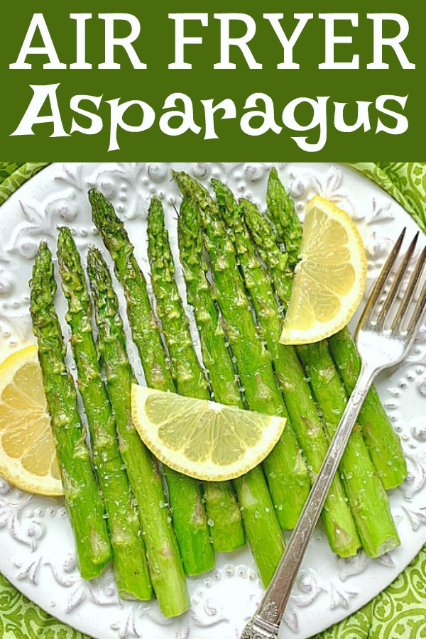 Air Fryer Asparagus | Foodtastic Mom #airfryerrecipes #asparagusrecipes