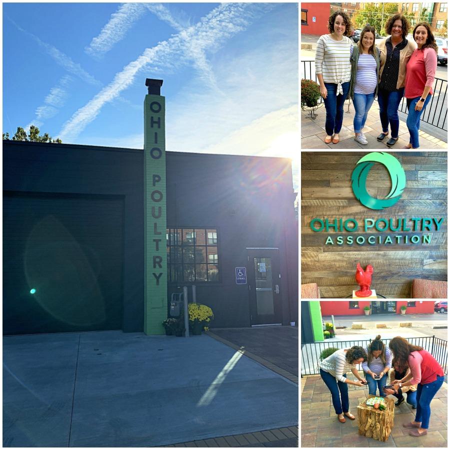 ohio eggs office with ohio bloggers