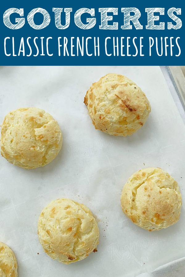 Gougeres - Classic French Cheese Puffs | Foodtastic Mom #ad #ohioeggs