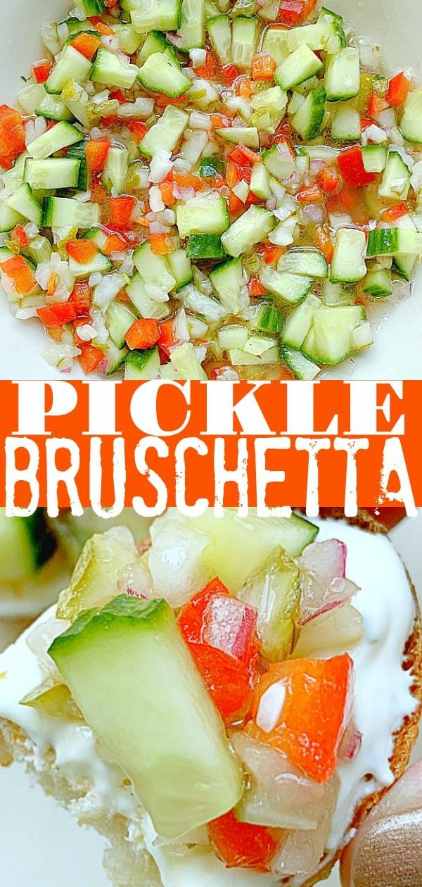Cucumber Bruschetta | Foodtastic Mom #bruschetta