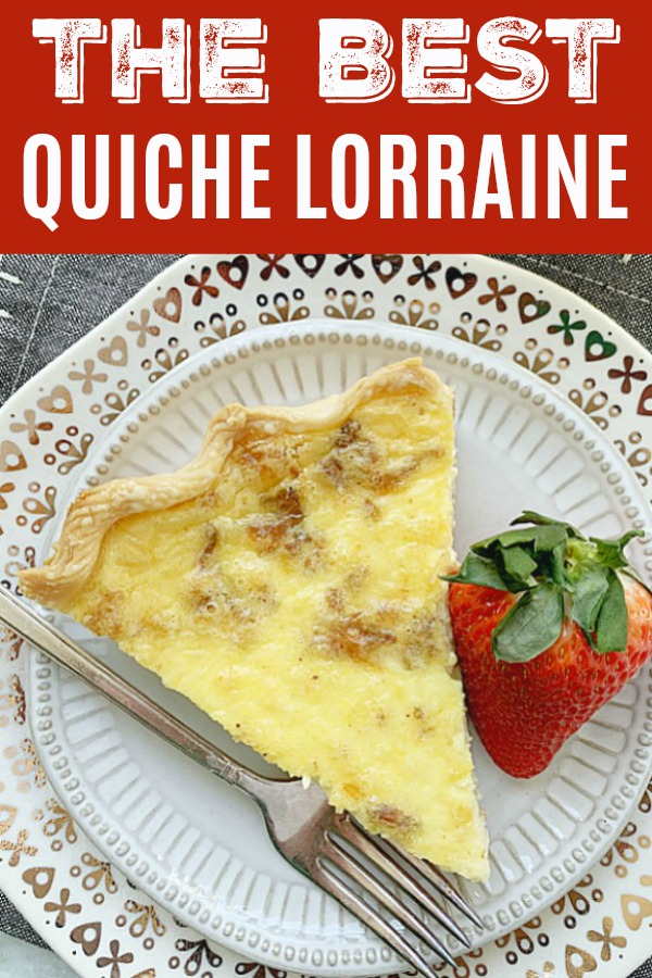 Quiche Lorraine | Foodtastic Mom #quiche #breakfastrecipes