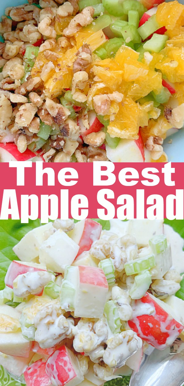 Apple Salad | Foodtastic Mom #applesalad