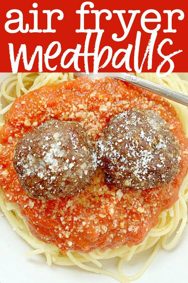 Air Fryer Meatballs | Foodtastic Mom #meatballs #airfryerrecipes #meatballrecipes #airfryermeatballs via @foodtasticmom