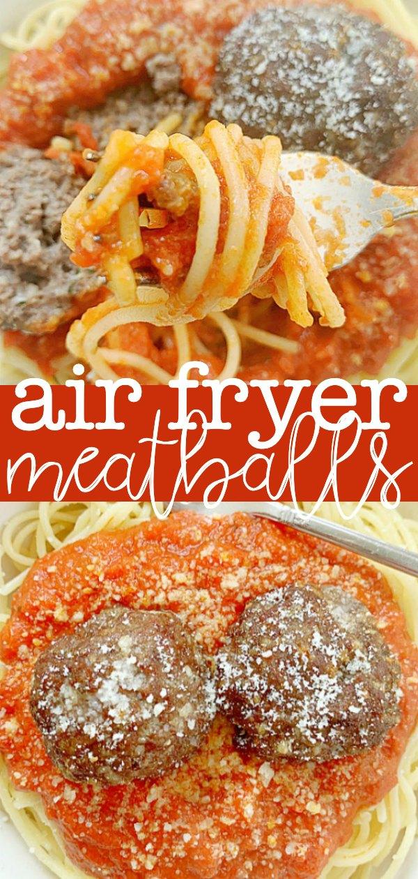 Air Fryer Meatballs | Foodtastic Mom #meatballs #airfryerrecipes