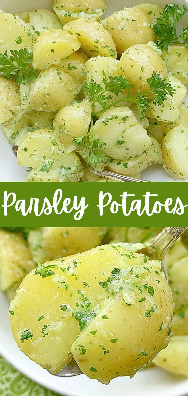 Parsley Potatoes | Foodtastic Mom #potatorecipes #parsleypotatoes