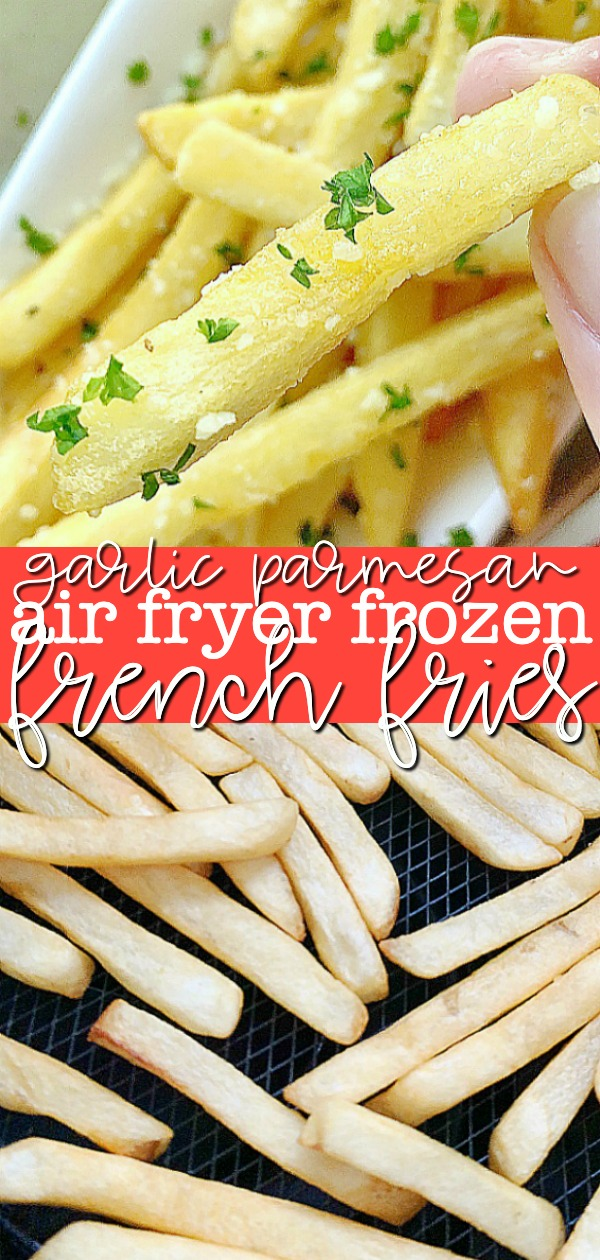 Air Fryer Frozen French Fries | Foodtastic Mom #frenchfriesinairfryer #airfryerrecipes #frenchfries