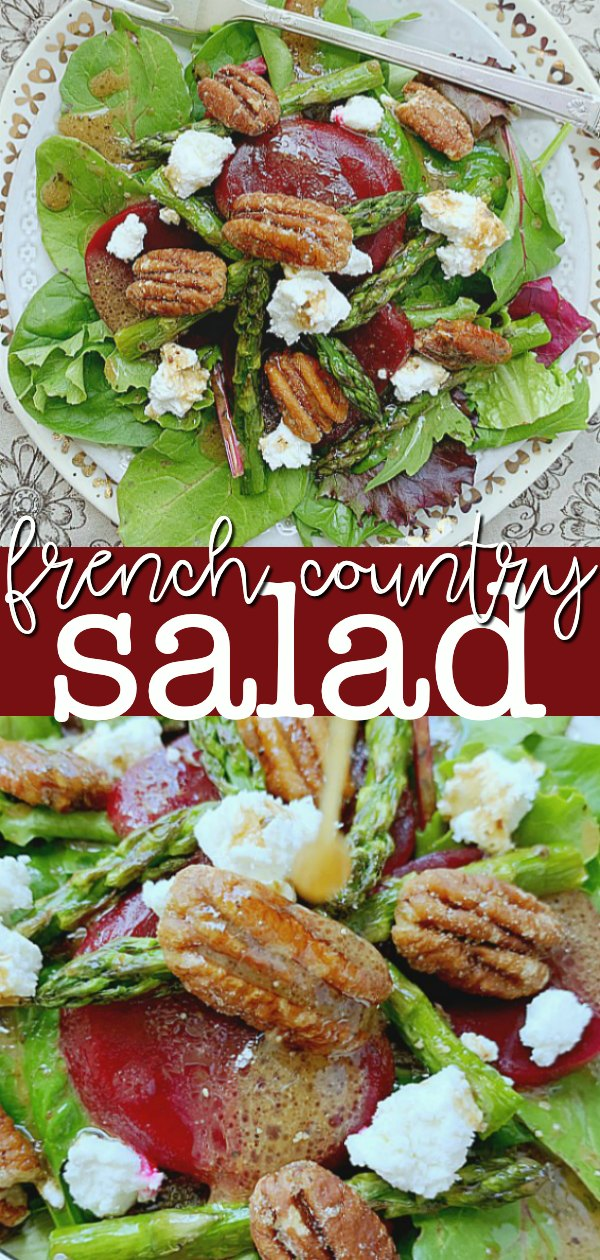 French Salad | Foodtastic Mom #frenchsalad #saladrecipes