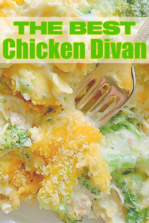 Chicken Divan | Foodtastic Mom #chicken #chickendivan #chickendinner #chickenrecipes via @foodtasticmom