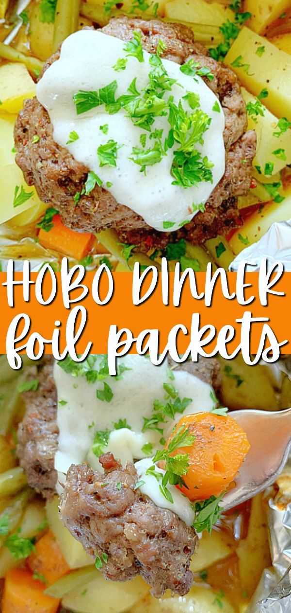 Hobo Dinner Foil Packets | Foodtastic Mom #hobodinnerfoilpackets #hobodinner #hobodinnersintheoven