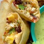 Air Fryer Southwestern Egg Rolls