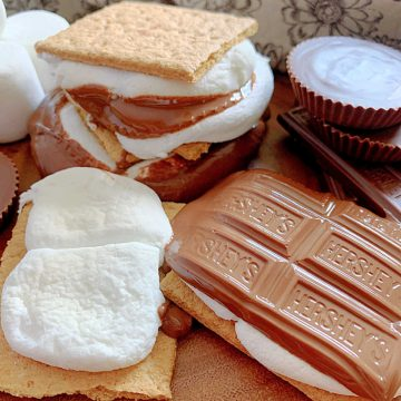 Air Fryer S'Mores | Foodtastic Mom #airfryerrecipes #airfryersmores #smores